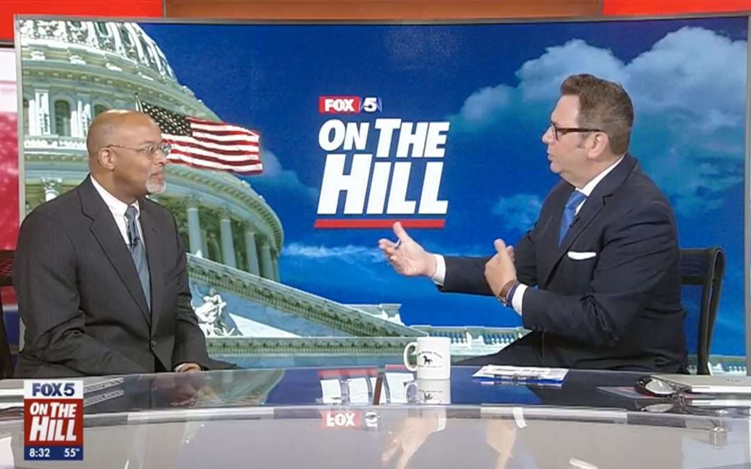 Glenn Ivey Joins Fox 5 News On The Hill Political Panel