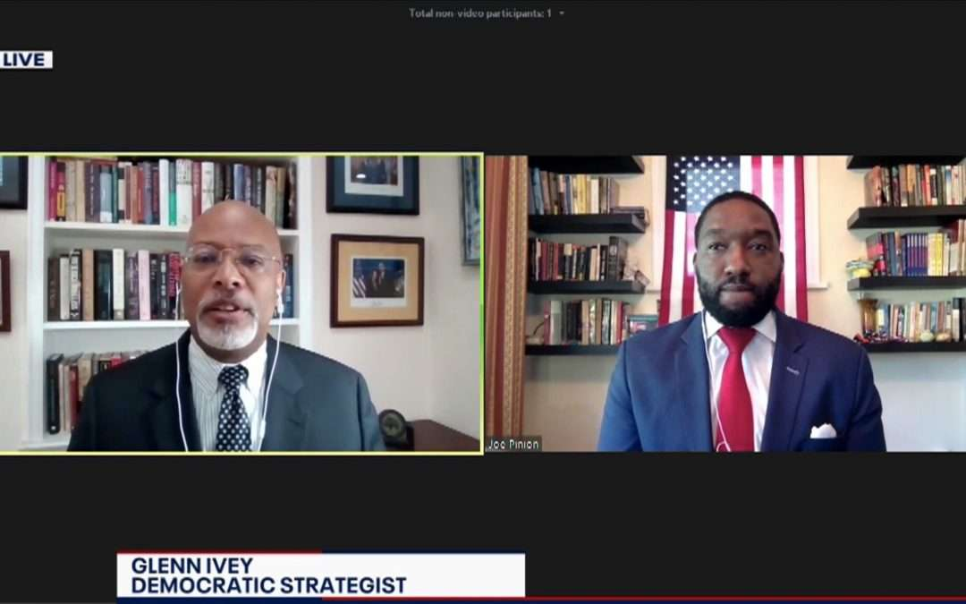 Glenn Ivey Discusses Protests on FOX 5 On the Hill Political Panel